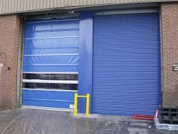 folding garage door manchester roller shutters industrial doors traffic rapid roll bi
