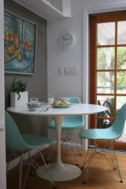 White Circle Table by Inspiring Table And Chairs For The Kitchen With White Round Table