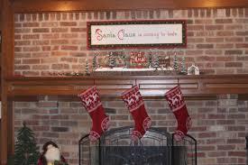 decor u2013 christmas stockings fireplace enchanted manor