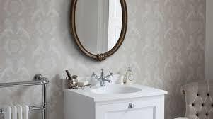 retro vintage style bathroom design ideas hugo oliver traditional style retro bathroom with oval mirror and radiator towel rail hugo oliver
