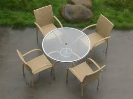 Rattan And Glass Coffee Table by Garden Glass Dining Table Rattan Coffee Table T106 Akando