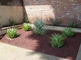 Small Rock Garden Design by Landscape Small Red Rock Landscaping And Garden Design Ideas