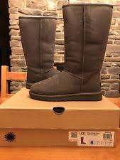 s isla ugg boot ugg australia womens isla boot heathered grey size 6 style 1008840