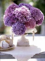 hydrangea centerpieces extraordinary purple hydrangea centerpieces wedding mywedding tags