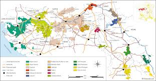 Italy Wine Regions Map by France Map Of Vineyards Wine Regions