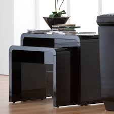 toscana home interiors best black high gloss nest of tables 27 with additional interior