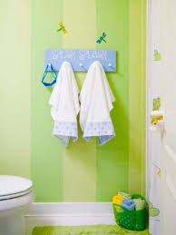Kids Striped Rugs by Bathroom Striped Green Wall Color White Towel Toilet Seat Green