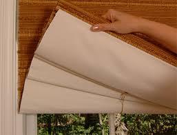 Classic Roman Shades - today u0027s window fashions horizons natural woven classic roman shades