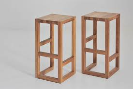designer barhocker design barhocker step aus massivholz vitamin design