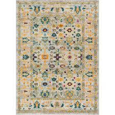 Shaw Area Rugs Home Depot Well Woven Laurent Shaw Multi 5 Ft 3 In X 7 Ft 3 In Vintage