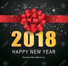 happy new years posters happy new year 2018 lettering typed text calligraphy for
