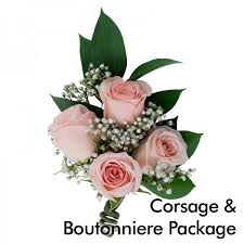 where can i buy a corsage and boutonniere for prom pink wedding corsage boutonniere package martin s specialty