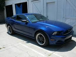 Black Mustang With Black Rims Let U0027s See Deep Impact Blues With Black Or Charcoal Wheels The