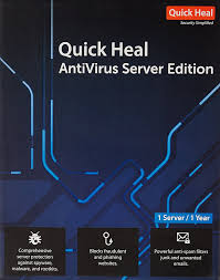 quick heal antivirus server latest version 1 server 3 years