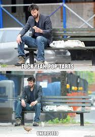 Pop Tarts Meme - fuck yeah pop tarts unfrosted sad keanu quickmeme