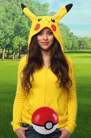 Pikachu Halloween Costume Men Pokemon Costumes Halloweencostumes