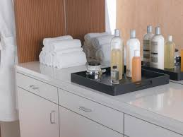 bathroom countertops ideas white laminate countertops stylish modern bathroom hgtv in home