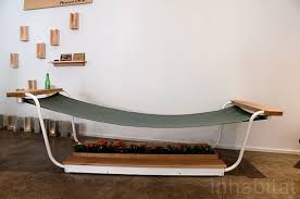 hammock bench plywood office s multi use hammock makes you want to lay down and