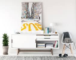 Sideboard In Living Room Ocean Sideboard Look 2 Scandinavian Living Room Montreal