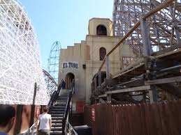 El Toro Roller Coaster Six Flags Uri Nieto Six Flags Great Adventure