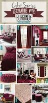color series decorating with burgundy shades of teal burgundy