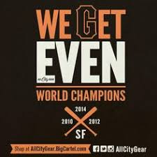 san francisco giants 2014 world series chions small glass
