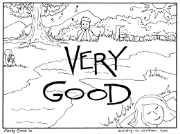 creation coloring pages day 7 god rested it was very good at days