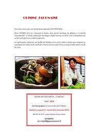 cours de cuisine chalon sur saone la semaine japonaise de japon sur saône ulule