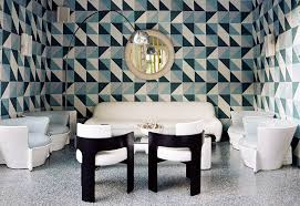 geometric wall photos design ideas remodel and decor lonny