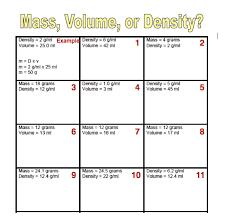 water displacement worksheet worksheets