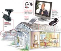 wireless home security outdoor kits