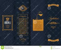 vector set of design elements labels icon logo frame luxury
