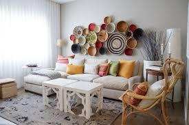 dekoideen wohnzimmer aufbewahrungskörbe zur deko schaffen funktionalen blickfang 20 ideen