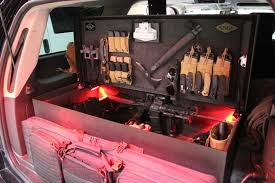 survival truck gear duck hunting sportsman vehicle cabinet systems