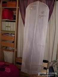 housse robe de mariã e housse graine de coton pour robe de mariée tnt 50g graine