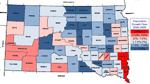 map of south dakota counties madville times south dakota urbanizes 5 counties produce 90 of