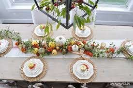 last minute thanksgiving tablescape all things thrifty