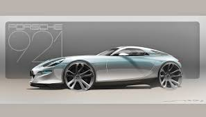 new porsche 928 revealed the gear shift modern porsche 928 rendered as 921 vision concept
