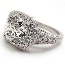 platinum halo engagement rings conflict free european cut halo engagement ring