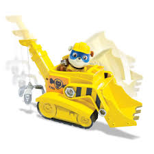 paw patrol halloween background paw patrol super pup rubble u0027s crane vehicle and figure toys