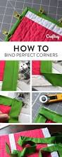 how to sew sharper corners on your quilt bindings tutorials