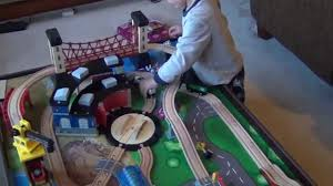 imaginarium mountain rock train table instructions imaginarium train table and train set for kids youtube