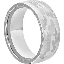 camo mens wedding band tungsten mens camo rings forever metals