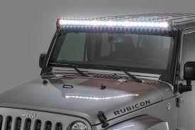 Led Light Bar For Cars by Quadratec J5 Led Light Bar Kit With 6 Bolt Windshield Mounting