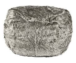 silver grey bean bag fatsak silver shadow our furry hero bean bag
