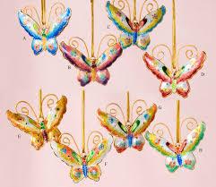 painted cloisonne butterfly ornaments home décor