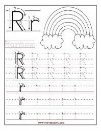 printable letter tracing worksheets preschool printable