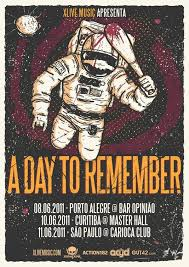 a day to remember no brasil el sonora