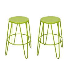 bar stools stackable bar stools joveco metal round top backless