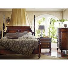 stanley bedroom furniture stanley furniture british colonial poster bed in caribe 020 63 42